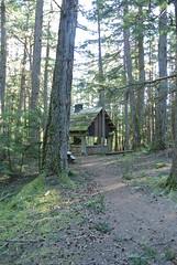 April Bicycle Camping day 4 - Covered kitchen (Spiral Cage) Tags: april wa pugetsound orcasisland sanjuanislands anacortes bicycletouring springtour eastsound moranstatepark mountconstitution fidalgoisland bicyclecamping cyclotouring aprilbicyclecamping aprilbicyclecampingday4