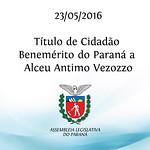 T�tulo de Cidad�o Benem�rito 23/05/2016