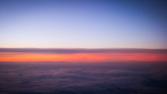 Dreaming of far away places (Rich Walker75) Tags: blue red sky orange cloud sun beautiful beauty clouds sunrise dawn flying earth horizon planet airscape