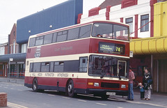 2000-07-05 N593 BRH Volvo Olympian-Alexander 593 of East Yorkshire,  Withernsea (John Carter 1962) Tags: bus buses eastyorkshire eyms