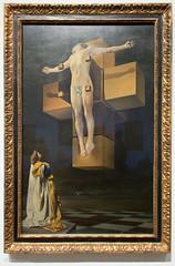 Metropolitan Museum of Art (Cthonus) Tags: newyork museum geotagged artgallery 1954 themet metropolitanmuseumofart salvadoredali crucifixioncorpushypercubus