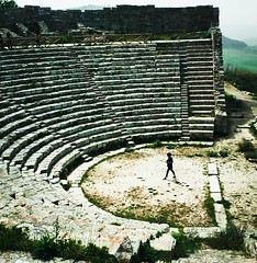 Breathing (koi_no_yokan1) Tags: italy walking thinking sicily sicilia segesta teatrogreco siciliabedda