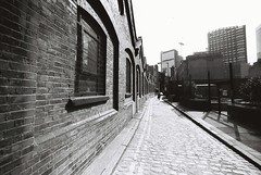 Gunthorpe Street (goodfella2459) Tags: street white black london history film analog yard 35mm lens jack george nikon martha f65 crime f plus pan af nikkor 50 whitechapel milf ilford ripper gunthorpe 14mm f28d tabram