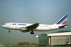 F-BVGB Airbus A.300B2-1C Air France (pslg05896) Tags: lhr egll london heathrow fbvgb airbus a300 airfrance