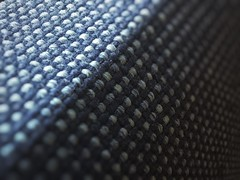 """""""...My bright is to slight to hold back all my dark..."""" (nophoto4jojo) Tags: blue shadow dark bench chair pattern bright bored fabric yang tweak yin leadingline activeassignmentweekly iphone6 snapseed"""