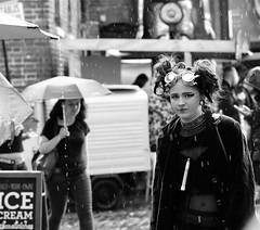 Cyberdog girl in the rain (grahamfkerr) Tags: girls punk camden punks prettygirls goths cyberdog grahamkerr camdenlife grahamfkerr candemhairfotos grahamkerrphotographer