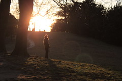 (Sonjetchka) Tags: winter paris dusk beautifullight fave buttesdechaumont