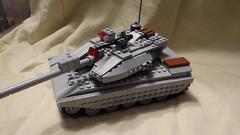 New Tank [Main] (Mteo) Tags: modern big gun tank lego awesome armor armour