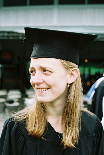 Graduation with Sideways Glance
