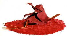 Origami création - Didier Boursin - Singe