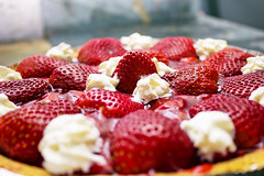 Strawberry pie (shuttertag) Tags: food fruit pie whippedcream strawberrypie