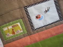 Heather Ross wall decor (a maiden hair fern) Tags: handmade heather kona minky munki munkimunki heatherross lightningbugsandothermysteries