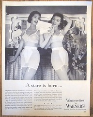 Warnerettes Bras and Girdles Ad (Sandy Creek Collectables) Tags: vintageads magazineads
