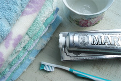 Brush Your Teeth (such pretty things) Tags: pretty pastel toothpaste packaging chic shabby