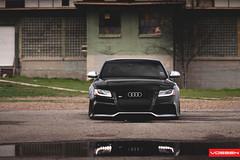 Audi S5 - VVSCV3 (VossenWheels) Tags: european wheels audi graphite matte s5 airlift airbags bagged vossen cv3 dtek vvscv3