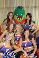 Gator Dazzlers in Omaha (dbadair) Tags: 2 basketball 1 day cheerleaders florida gators omaha cheer sec ncaa uf 2012