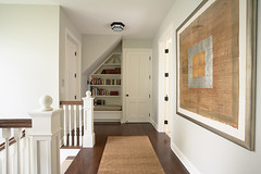 "Second floor hall with reading nook • <a style=""font-size:0.8em;"" href=""http://www.flickr.com/photos/75603962@N08/6853348051/"" target=""_blank"">View on Flickr</a>"