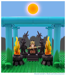 The Hall of the Mountain King (bruceywan) Tags: mountain hall king lego bruce vignette guardian photostream lowell moc ib1 ironbuilder brucelowellcom ironbuilderblcom ibblcom