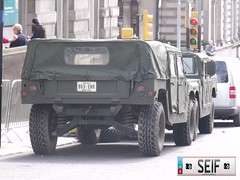 Brad Pitt Movie Glasgow 2011 (seifracing) Tags: army scotland us glasgow special forces armed hummvee americain seifracing