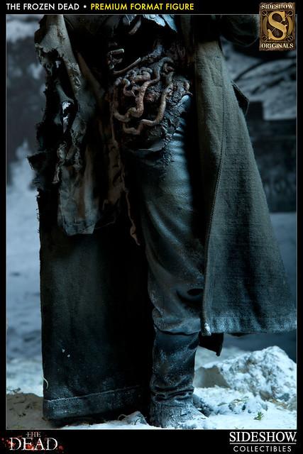 "Sideshow 殭屍雕像系列新品""Frozen Dead""!"