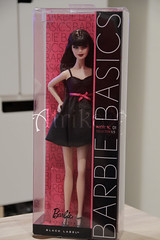 Barbie doll Basics Black Label Model No. 1  Collection 001.5 (atrikaa) Tags: blacklabel barbiedoll modelmuse modelno1 barbiebasics modelmusedoll collection0015