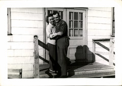 On Leave (mizaliza) Tags: soldier couple 1940s american ww2 etsy furlough photovintage photoantique etsydelphiniumsbluedelphiniumsbluefound