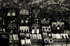 New Orleans Voodoo art (praline3001) Tags: blackandwhite art louisiana neworleans frenchquarter jacksonsquare mardigras voodoo canonrebelt3i