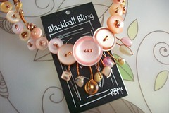 Blackball Bling, Peachy Pink (BlackballBling) Tags: original artist gallery gift buy collect facebook kiwiana blackballbling