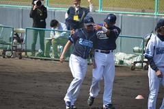 DSC_0667 (mechiko) Tags: 横浜ベイスターズ 120212 渡辺直人 横浜denaベイスターズ 2012春季キャンプ サラサー