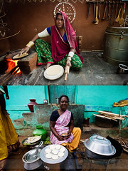 North Vs South (Amar Ramesh Photography) Tags: roti southindia idli northindia chappati northvssouth indianpeople incredibleindia peopleofindia