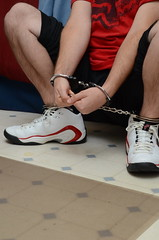 DSC_9267 (jakewolf21) Tags: basketball air bondage sneakers nike chain pippen legirons
