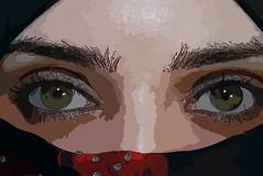 Face of Palestine (jadallah) Tags: art peace palestine refugee muslim islam jerusalem hijab tourist arab niqab oldcity gaza apartheid occupation intifada jadallah