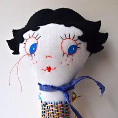 Jessica Jane (Quinn 68) Tags: comic sewing character painted cartoon retro textile etsy artdoll bettyboop embroidered nurseryrhyme humptydumpty clothdoll smalldolls