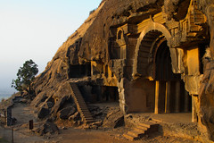 Bhaja Caves - Pune, India (wijew) Tags: india temple ancient buddhist ruin caves maharashtra cave complex pune bhaja buddhim