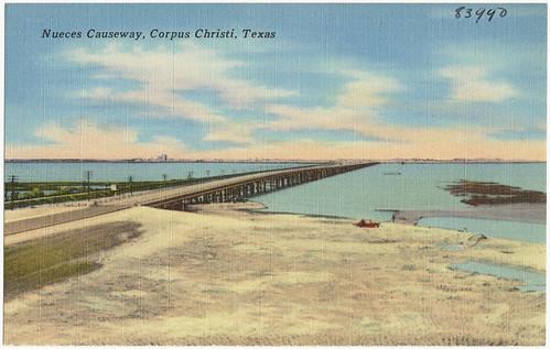 Nueces Causeway, Corpus Christi, Texas
