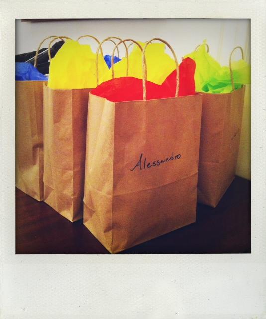 Gift Bags, thanks Jen