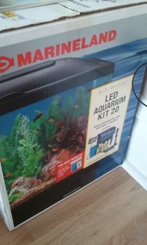 fish aquarium tank led kit marineland biowheel