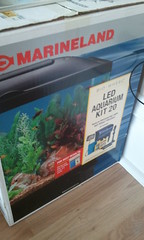 fish aquarium tank led kit marineland biowheel
