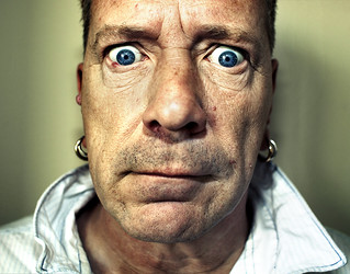 John Lydon (aka Johnny Rotten) for Loud & Quiet Magazine