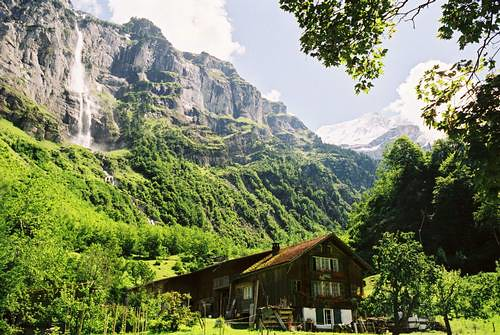 The Lauterbrunnen Valley (photo by Peter Keeble)