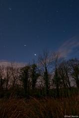 Jupiter-Venus conjuction (Tyroneskies) Tags: longexposure cold night stars lowlight nikon venus space astro planets astronomy nightsky jupiter tokina1116