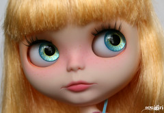 *Lola* (soulgirl) Tags: doll dolls blueeyes blythe custom blythedoll customization blythedolls soulgirl blythecustom handpaintedeyechips icerune icerunecustom soulgirlcustom