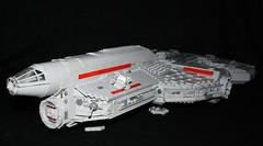 The Fortuna (Babalas Shipyards) Tags: star ship republic lego scifi wars corvette moc cec soace