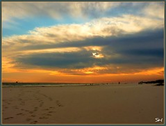 (Suzanham) Tags: sunset beach sand fortmorgan thegalaxy fantasticnature absolutelyperrrfect