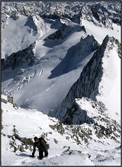Discesa dal Gran Mesule (AGTphotos) Tags: mountain berg alpinismo montagna scialpinismo alpiaurine