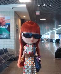 Enquanto espera, passeia pelo aereoporto