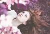 (Danielle Pearce) Tags: white girl canon eyes purple mark magenta down ii 5d laying