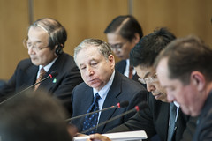 Jean Todt attends Day 1 of the Annual Summit in Leipzig