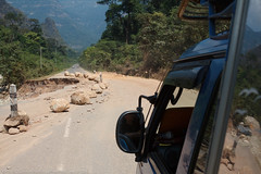 Washout (keithbcg) Tags: car automobile laos songthaew bolikhamsai