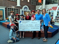 2012 Change Bandits Check Presentation to MUSC Children's Hospital (southcarolinafederal) Tags: